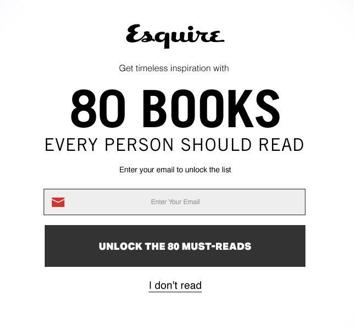 Esquire: Emotional Manipulation - UXP2: Dark Patterns
