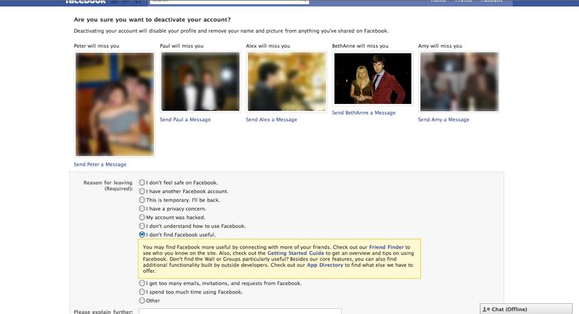 Facebook: Emotional Manipulation - UXP2: Dark Patterns